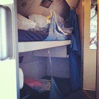 Photo taken at KLM Flight KL 643 by Emile N. on 8/12/2012