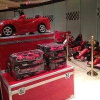 Photo taken at Ferrari Maserati Showroom and Dealership by Stella K. on 2/22/2012