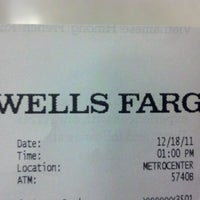 Photo taken at Wells Fargo Bank by Ben A. on 12/18/2011