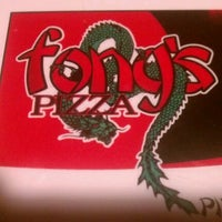 Photo taken at Fong's Pizza by Benjamin W. on 9/3/2012