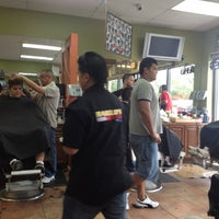 Photo taken at Rabelo's Barber Shop by Dimecio D. on 10/15/2011