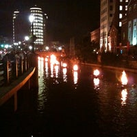 Photo taken at WaterFire Providence - Waterplace Park by Colleen K. on 8/19/2012