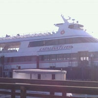 Photo taken at Catalina Flyer by Jorgette Joanne on 2/18/2012