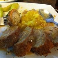 Photo taken at Steak Plus by Michael Gabuya on 10/31/2011