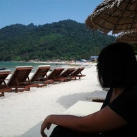 Photo taken at Bubu Long Beach Resort by sofea e. on 5/20/2012