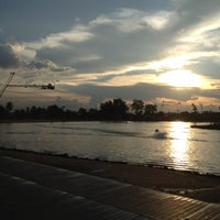 Photo taken at Camsur Watersports Complex (CWC) by J4 a. on 5/14/2012
