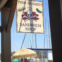 Photo taken at Poor Richard's Sandwich Shop by Mark V. on 6/9/2012