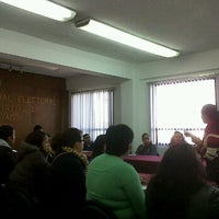 Photo taken at Junta Distrital Ejecutiva No. 28 IFE by Gus B. on 1/19/2012