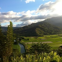 Photo taken at Hanalei Valley Lookout by Bob K. on 1/6/2012