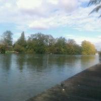 Photo taken at Bords de Seine by Domenico C. on 10/19/2011
