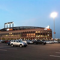Photo taken at Citi Field Parking Lot by Sean O. on 9/26/2011