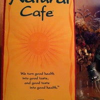 Photo taken at Natural Cafe by Ken S. on 6/18/2011