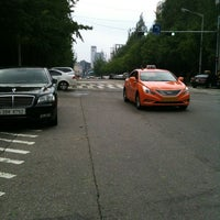 Photo taken at M BUS BUS STOP by Yoon L. on 8/28/2012