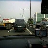 Photo taken at Toll  Priok Cawang km 8 by Dimas M. on 6/9/2012