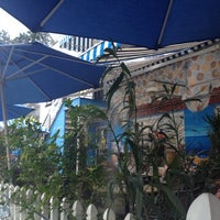 Photo taken at The Greek Corner by Amy J. on 9/1/2012