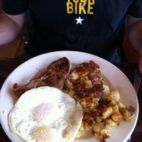 Photo taken at Curbside Cafe by Amy C. on 8/13/2011