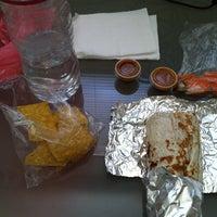 Photo taken at Mi Virgencita Taqueria Taco Truck by Nicole V. on 4/26/2011
