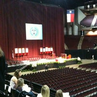Photo taken at Reed Arena by June R. on 12/17/2011