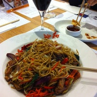 Photo taken at Wagamama by Neslihan ® on 5/3/2012