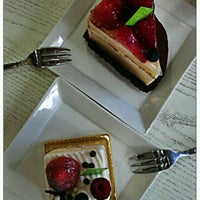 Photo taken at Flor Patisserie by Oli S. on 4/8/2012