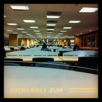 Photo taken at NUS Central Library by Sing1etrave11or N. on 3/14/2012