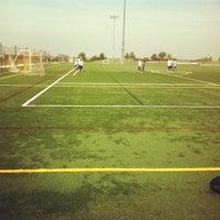 Photo taken at Loyola Academy Fields (Munz Campus) by Emily D. on 7/25/2012