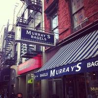 Photo taken at Murray's Bagels by John Jeffrey P. on 5/11/2012