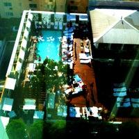 Photo taken at Mondrian Hotel by Rick V. on 8/20/2012