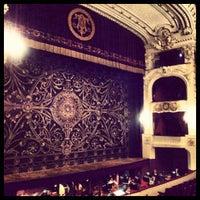 Photo taken at Teatro Municipal de Santiago by Sebastián M. on 6/19/2012