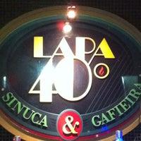 Photo taken at Lapa 40 Graus by Ronaldo S. on 3/17/2012