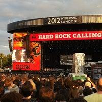 Foto tirada no(a) Hard Rock Calling por Finn K. em 7/16/2012