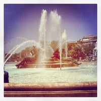 Photo taken at Logan Square by Andrei S. on 5/18/2012