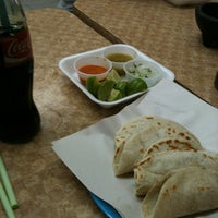 Photo taken at Tacos Mode by Gil M. on 5/27/2012