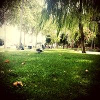 Photo taken at Bebek Parkı by Emel Ç. on 8/31/2012