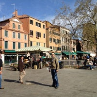 Photo taken at Campo Santa Margherita by Alberto C. on 3/30/2012