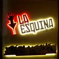 Photo taken at La Esquina Teatro Bar by Leandro B. on 6/24/2012