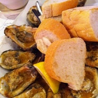 Photo taken at Acme Oyster House - Baton Rouge by Scott T. on 10/21/2011