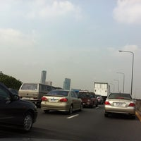 Photo taken at Si Rat Expressway Sector A by Zeven D. on 4/8/2011
