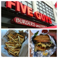 Photo taken at Five Guys by Darrin D. on 6/29/2012