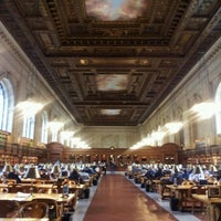 Photo taken at Rose Main Reading Room - New York Public Library by Greg H. on 11/10/2011