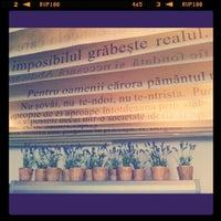 """Photo taken at Biblioteca Centrală Universitară """"Carol I"""" by Ana S. on 6/14/2012"""