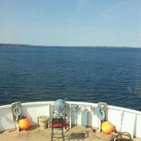 Photo taken at St. Lawrence River by William M. on 4/19/2012