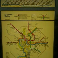 Photo taken at WMATA Yellow Line Metro by Fernando L. on 8/25/2012