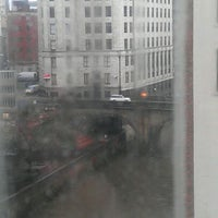 Photo taken at Premier Inn Manchester City Centre Arena Printworks by Grant W. on 1/20/2012