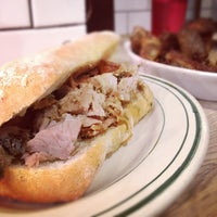 Photo taken at Porchetta by Matt D. on 2/10/2012