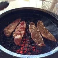 Photo taken at Tajimaya Charcoal Grill by Juni S.    c',) on 5/25/2012