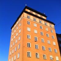 Photo taken at Sankt Eriksbron by Nikke L. on 11/28/2011