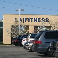 Photo taken at LA Fitness by Jnette B. on 3/26/2012