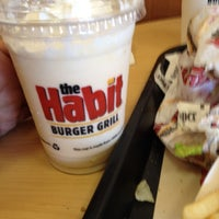 Photo taken at The Habit Burger Grill by Vince J. on 4/10/2012