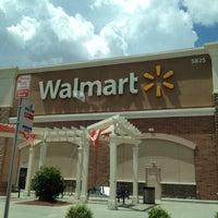 Photo taken at Walmart Supercenter by Rich on 7/15/2012